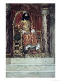 Solomon is Made King Giclee Print by James Tissot