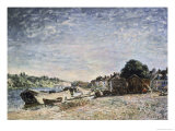 Bord de Riviere a Saint Mammes Giclee Print by Alfred Sisley