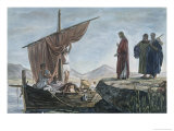 Christ Calling James and John Giclee Print by Edward Armitage