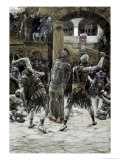 The Scourging of the Face Giclee Print by James Tissot