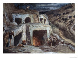 Those That Dwell in the Sepulchers Giclee Print by James Tissot