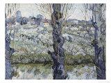 View of Arles Giclee Print by Vincent van Gogh
