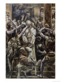 Christ Mocked in the House of Caiaphas Giclee Print by James Tissot