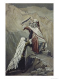 Moses Destroys the Tablets of the Ten Commandments Giclee Print by James Tissot
