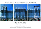 Reichstag Westfassade Triptychon Collectable Print by Christo 