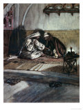 Interview Between Jesus and Nicodemus Giclee Print by James Tissot