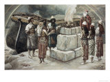 Noah's Sacrifice Giclee Print by James Tissot