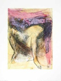 Femme Nue Dur le dos Jambes Ecartees Poster by Auguste Rodin