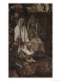 Betrothed of Cana in Galilee Giclee Print by James Tissot
