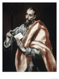 Saint Paul Giclee Print by  El Greco