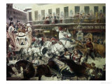 Barnum's Museum Giclee Print by A.c. Kent