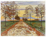 Herbstabend, c.1892 Posters by Ferdinand Hodler