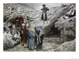 John the Baptist and the Pharisees Giclee Print by James Tissot
