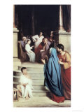 Jesus Found in the Temple Giclee Print by Carl Bloch
