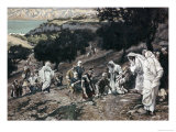 Jesus Healing the Lame and the Blind Giclee Print by James Tissot