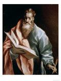 Saint Matthew Giclee Print by  El Greco