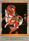 Pergusa Three Collectable Print by Frank Stella