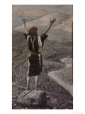 The Voice in the Desert Giclee Print by James Tissot