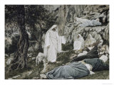Jesus Commands His Disciples to Rest Giclee Print by James Tissot