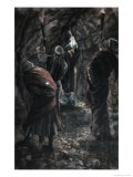 Chasm in Rock of Calvary Giclee Print by James Tissot