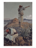 Elijah from Mt Carmel Sees a Cloud Afar Off Giclee Print by James Tissot