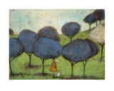 Sniffing the Lilac Posters by Sam Toft