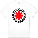 Red Hot Chili Peppers – Logo in Sternform T-Shirts