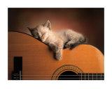 Sleeping Soundly Posters van Xavier Chantrenne