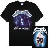 Metallica - Ride the Lightning Camisetas