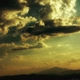 Study of Clouds and Lighting Photographic Print by Ewa Zauscinska