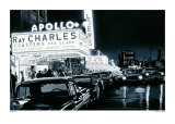 Ray Charles, Apollo Posters af Alain Bertrand