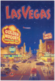 Las Vegas, Nevada Poster par Kerne Erickson