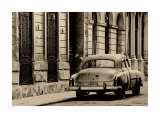 Vintage Car, Havana, Cuba Posters by Lee Frost