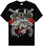 Guns N Roses - Tongue Skull T-Shirts