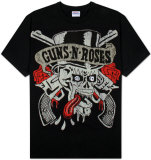 Guns N Roses - Tongue Skull T-Shirt