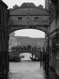 Canal with Bridge, Venice, Italy Photographic Print by Keith Levit