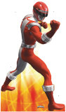 Red Power Ranger Stand Up