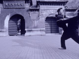 Couple Dancing, Jingshan Park, Beijing, China Photographic Print by Walter Bibikow
