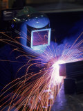 Welder, Kansas City, Missouri Photographic Print by Ed Lallo