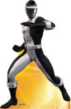 Mighty Morphin Power Rangers - Black Ranger Lifesize Standup Cardboard Cutouts