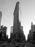 Flat Iron Building, New York City Fotografie-Druck von Keith Levit