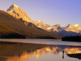 Fly-Fishing, Maligne Lake, Jasper National Park, Alberta, CA Photographic Print by Kevin Law