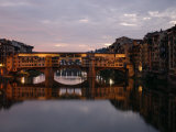 Ponte Vecchio, Florence, Italy Photographic Print by Keith Levit