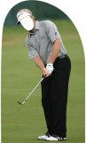 Golf Man Standin Cardboard Cutouts