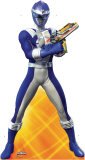 Blue Power Ranger Cardboard Cutouts