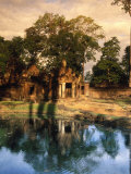 Banteay Srei Temple, Angkor Photographic Print by Angelo Cavalli