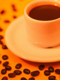 Brazilian Coffee with Coffee Beans Photographic Print by Silvestre Machado