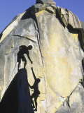Two Rock Climbers, the Needles, CA Photographic Print by Greg Epperson
