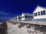 Line of Ocean Front Cottages, Cape Cod Photographic Print by Gary D. Ercole