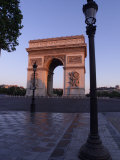 The Arc de Triomphe, Paris, France Photographic Print by Keith Levit